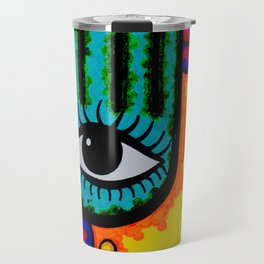 Blind you with color Travel Mug