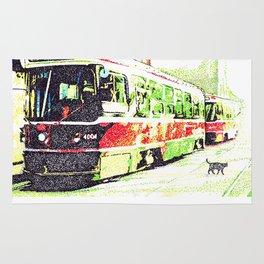 501 Street car Rug