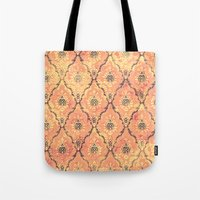 victorian Tote Bags featuring VICTORIAN SUNSET by Diego Verhagen
