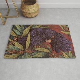 Black Cockatoo Rug