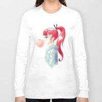 bubblegum Long Sleeve T-shirts featuring Bubblegum by Freeminds
