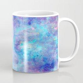 Bright Tarantula Nebula Aqua Lavender Periwinkle Coffee Mug