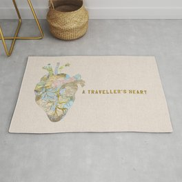 A Traveller's Heart (UK) Rug