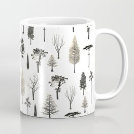 trees pattern Coffee Mug