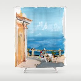 Traveler Shower Curtain