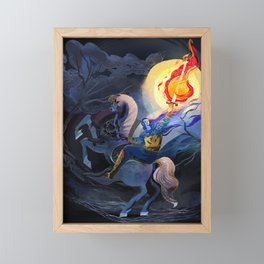 Firebrand Framed Mini Art Print