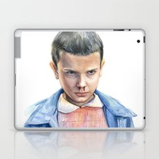 Eleven Stranger Things Watercolor Portrait Laptop & iPad Skin