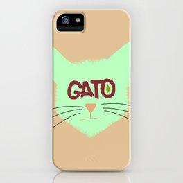 GAto iPhone Case