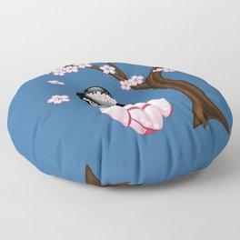 Japanese Bride Kokeshi Doll Floor Pillow