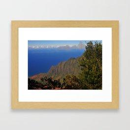 Kalalau Valley Kauai Framed Art Print