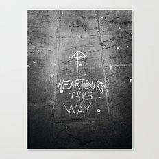 HeartBurn Canvas Print