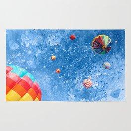 Acrylic Air Balloons Rug