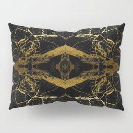 Black & Gold Pillow Sham