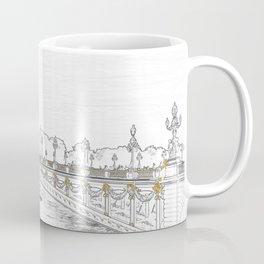 Pont Alexandre III on Seine River - Paris France Coffee Mug