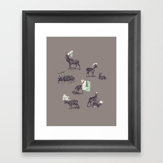 Good Use Framed Art Print
