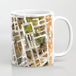 Soho London Map Coffee Mug