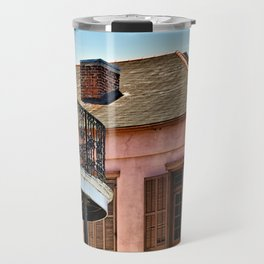 Open Shutters in the French Quarter Travel Mug