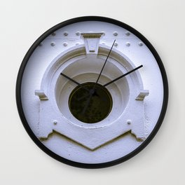 Port Hole Lighthouse Window North Point Light Station Milwaukee Wisconsin Wall Clock