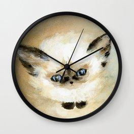 Little Fluff Wall Clock