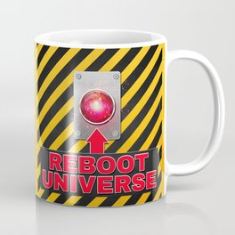 Reboot Universe Button Coffee Mug