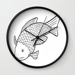 Cheeky Fish Wall Clock