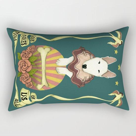 love makes fools of us Rectangular Pillow