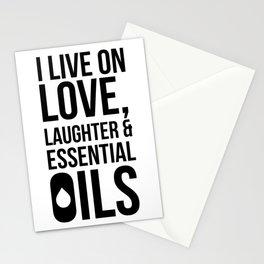 CUTE PRETTY ESSENTIAL OIL DIFFUSER designS - LIVE LOVE Stationery Cards