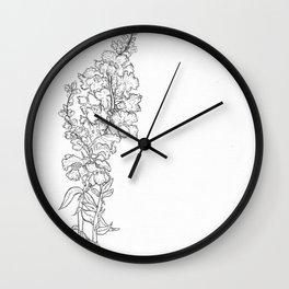love snapdragons Wall Clock
