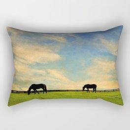 Sunrise Graze Rectangular Pillow