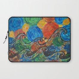 Waves in my Dreams Laptop Sleeve