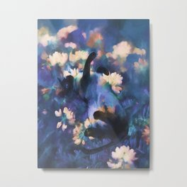 A Cat's Dream Metal Print