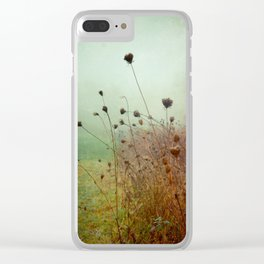 A Dense Fog Surrounded Her Clear iPhone Case