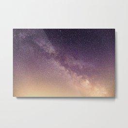 Walking Around In The Milky Way Metal Print