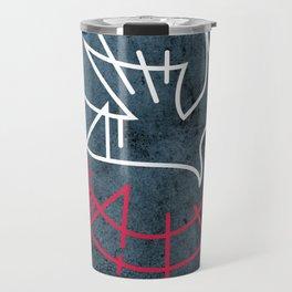 Holy Spirit religious symbol illustration Travel Mug