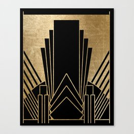 Art deco design Canvas Print
