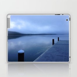The Fishing Pier at Lake McDonald, Glacier National Park, Montana 2013 Laptop & iPad Skin