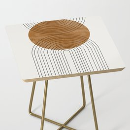 Abstract Flow Side Table