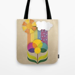 Daisy Showers Tote Bag