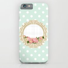 Polka Dots and Frame Slim Case iPhone 6