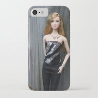 divergent iPhone & iPod Cases featuring Divergent Tris Barbie by Pam Gilfillen