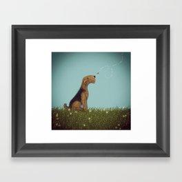 Let's Bee Friends Framed Art Print