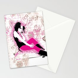 missin u! Stationery Cards