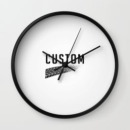 Custom Art Wall Clock