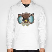 owls Hoodies featuring Owls by Conrad