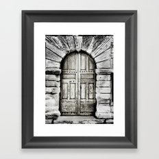 closed#01 Framed Art Print