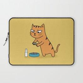 Foodie Cat Laptop Sleeve