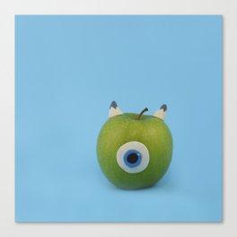 Wazowski apple Canvas Print