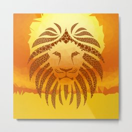 The Sun King Metal Print