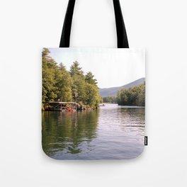 Beautiful Lake George Tote Bag