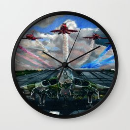 The Pride and Spirit of Great Britain Wall Clock